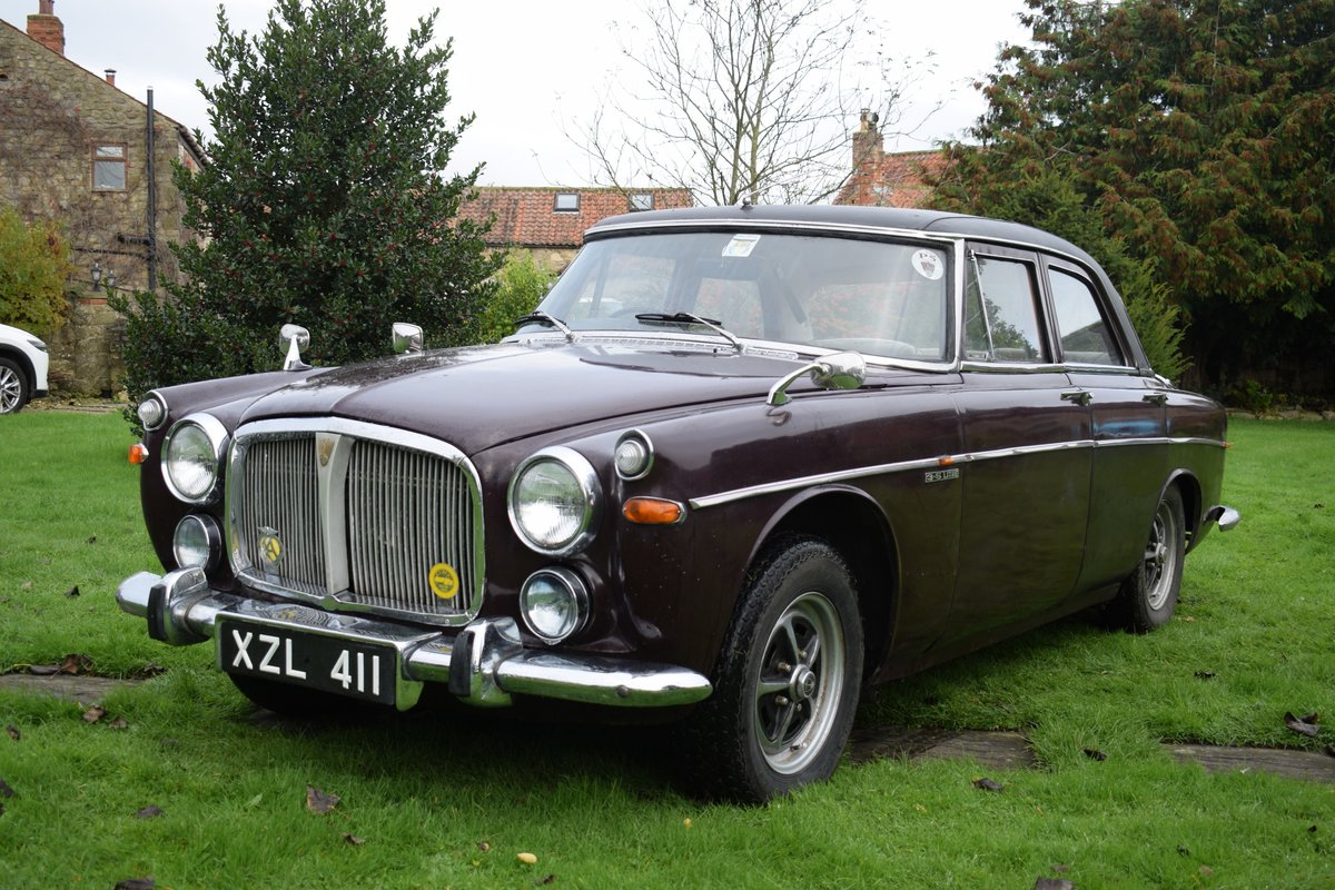 1968 ROVER P5B - VERY EARLY EXAMPLE, TOTALLY SOLID! SOLD (picture 2 of 6)
