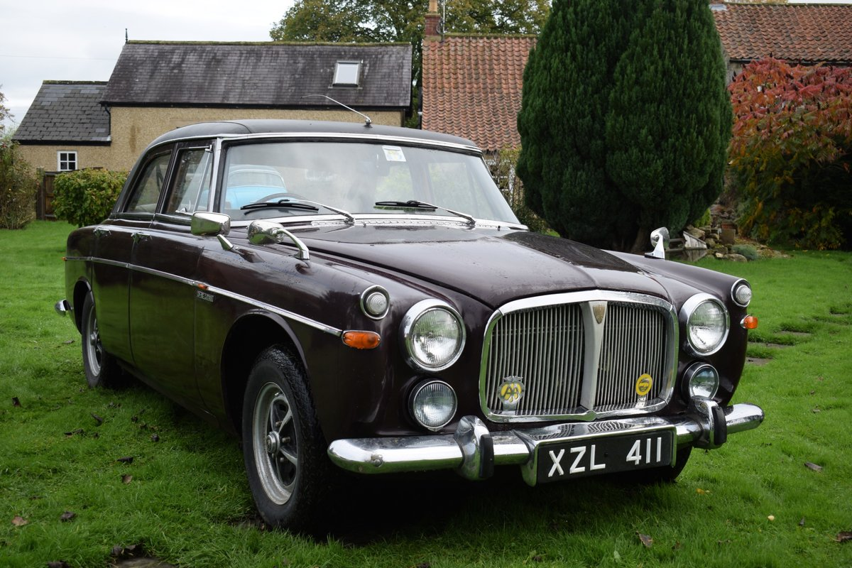 1968 ROVER P5B - VERY EARLY EXAMPLE, TOTALLY SOLID! SOLD (picture 3 of 6)