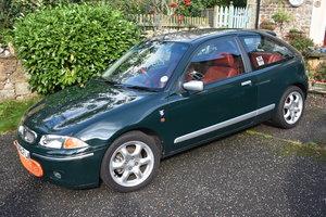 LOT 14: A 1999 Rover 200 BRM LE