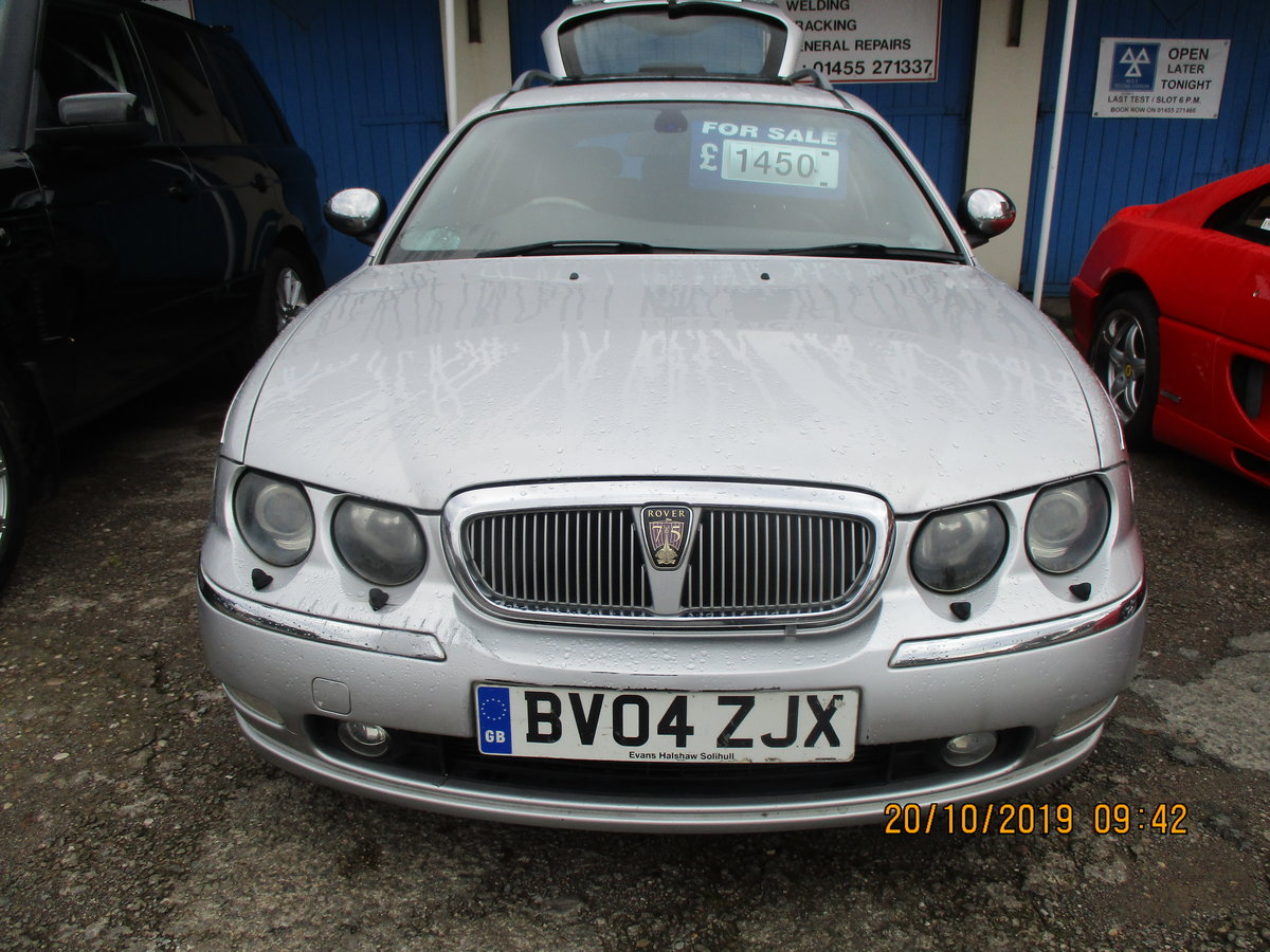2004 SUPER DRIVER THIS TOURING ROVER 75 DIESEL 04 MAY 28 2021 MOT For Sale (picture 1 of 6)