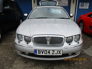 2004 SUPER DRIVER THIS TOURING ROVER 75 DIESEL 04 MAY 28 2021 MOT
