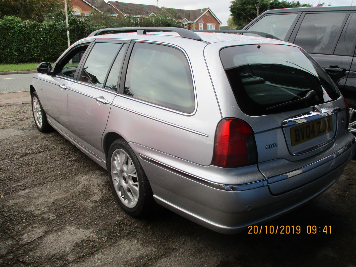 2004 SUPER DRIVER THIS TOURING ROVER 75 DIESEL 04 MAY 28 2021 MOT For Sale (picture 2 of 6)