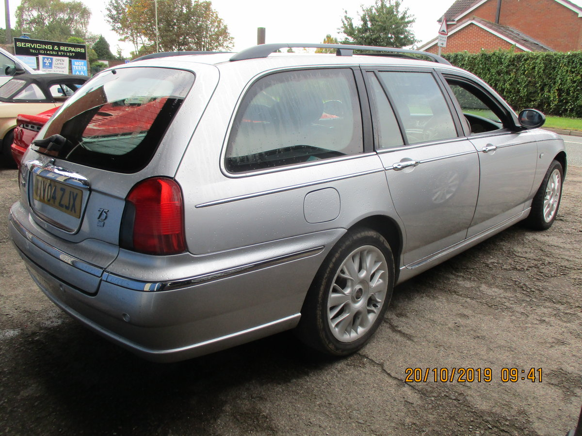2004 SUPER DRIVER THIS TOURING ROVER 75 DIESEL 04 MAY 28 2021 MOT For Sale (picture 3 of 6)