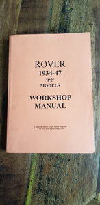 Rover Workshop Manual