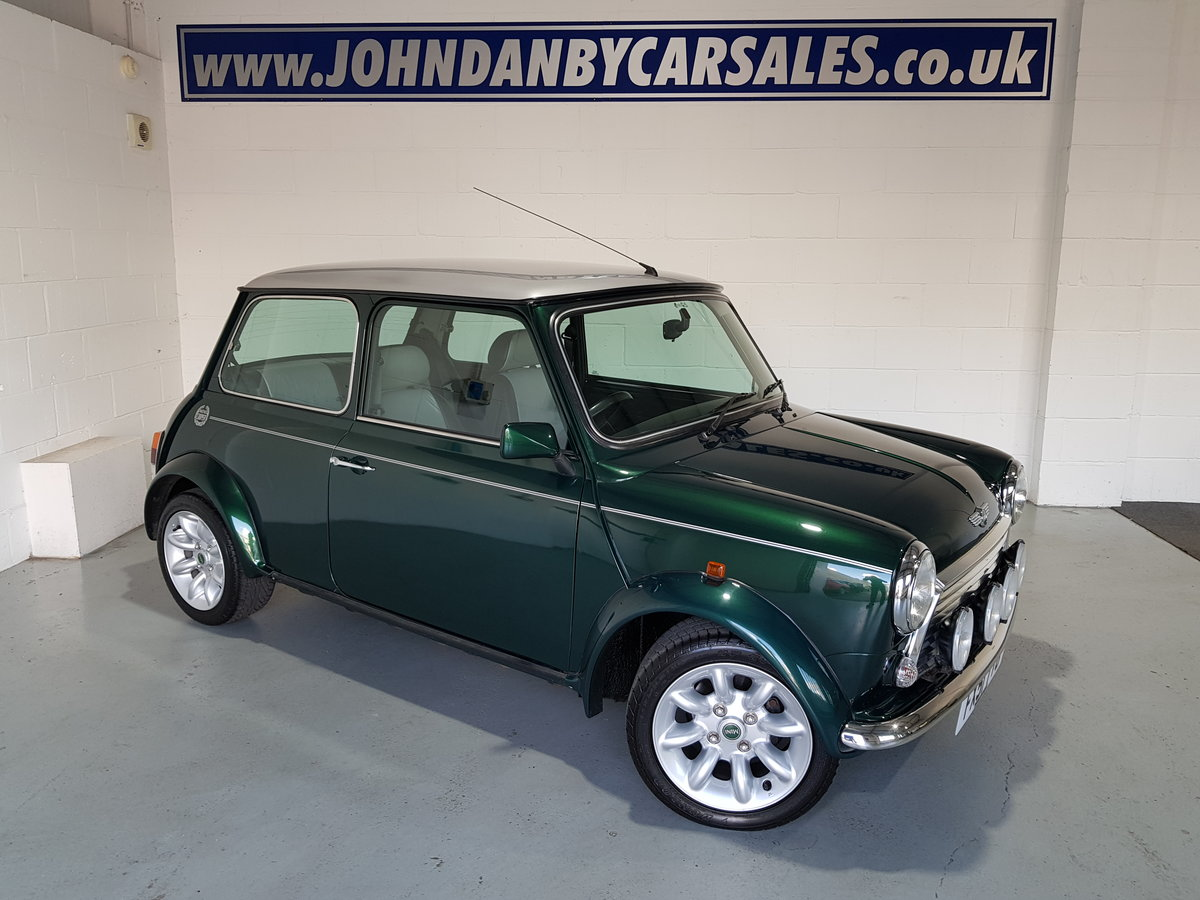 2001 51 Mini 1.3 Cooper Sport 2 Owners  For Sale (picture 1 of 6)