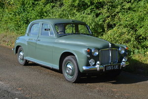 1960 Rover P4 100 For Sale by Auction