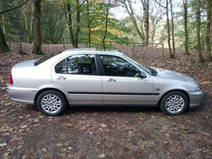 2001 Rover 45 2.0 V6 Club Auto Rare Low Miles For Sale