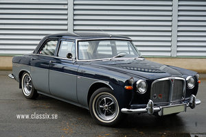 1966 Rover P5 3L LHD manual with overdrive SOLD