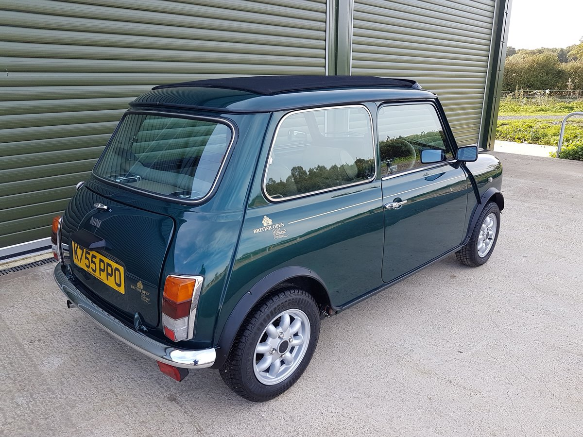1993 MINI LIMITED EDITION, LOW MILEAGE, 1275cc For Sale (picture 2 of 6)