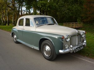 1963 ROVER 110  P4   ()  Four Owners. 52,000 miles. History.