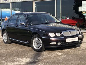 2001 Rover 75 Connoisseur 2.5 V6 Auto Saloon 29000 Miles Only SOLD
