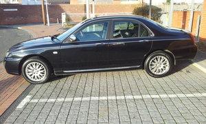 2005 Rover 75 connoisseur se - rare black