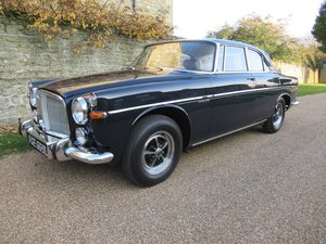 1972  Rover 3.5 Coupe P5B Surely one of the finest remaining