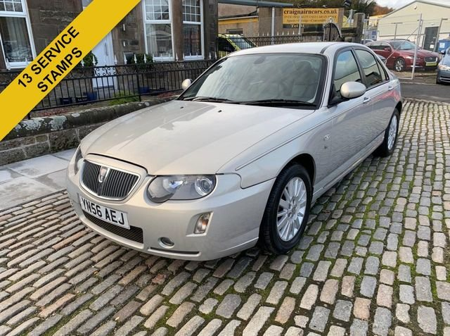2006 56 ROVER 75 2.5 CONTEMPORARY SE V6 4D AUTO 175 BHPFull  For Sale (picture 3 of 6)