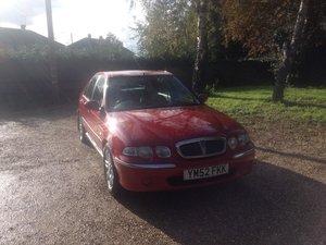 2003 Rover 45 impression 1.4 16V