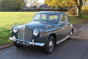 Rover 110 1964 - to be auctioned 31-01-2020
