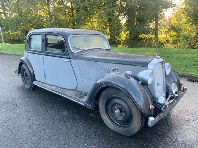 **DECEMBER AUCTION** 1940 Rover P2 12 Sportsman SOLD by Auction (picture 1 of 1)