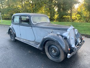 **DECEMBER AUCTION** 1940 Rover P2 12 Sportsman