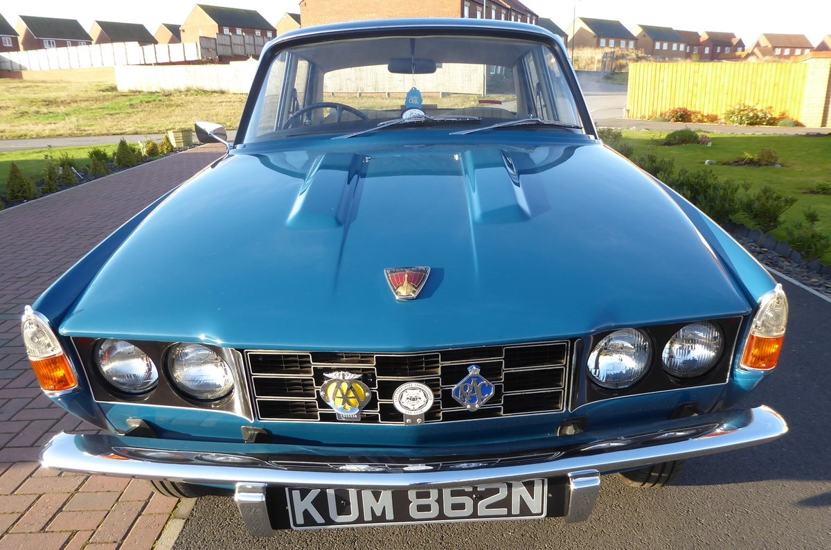 1975 Rover 2200 SC ( Manual Gearbox) Single carburetor. For Sale (picture 5 of 6)