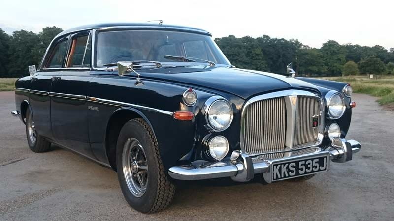 1970 Rover p5b Saloon 3.5 V8  - 66k SOLD (picture 1 of 5)