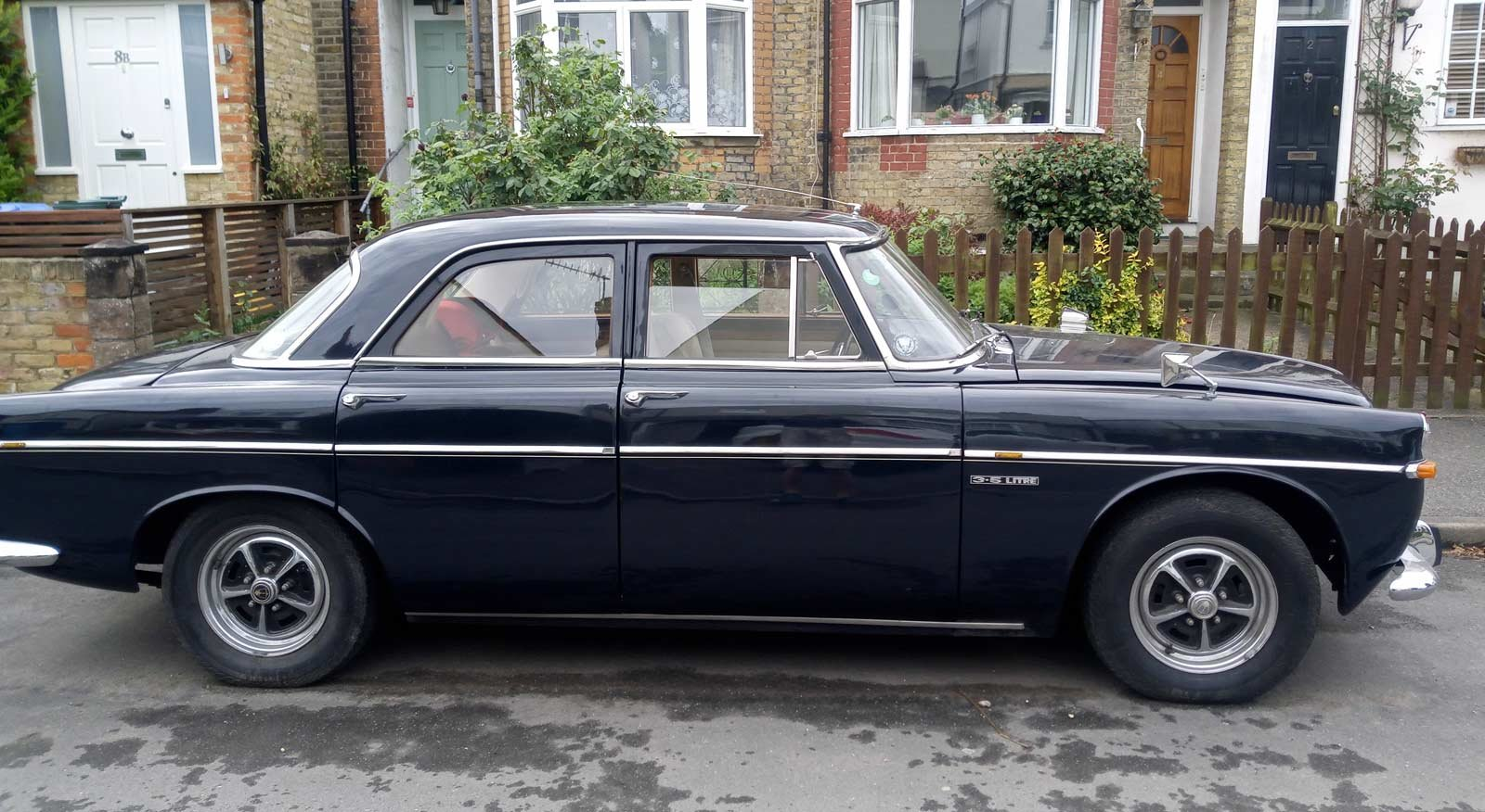 1970 Rover p5b Saloon 3.5 V8  - 66k SOLD (picture 5 of 5)