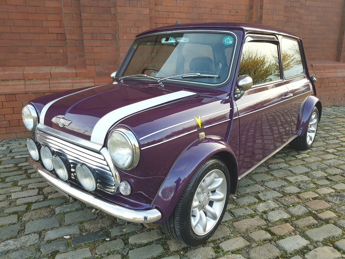 1998 ROVER MINI COOPER SPORTS PACK EDITION * RARE AMETHYST PURPLE SOLD (picture 1 of 6)