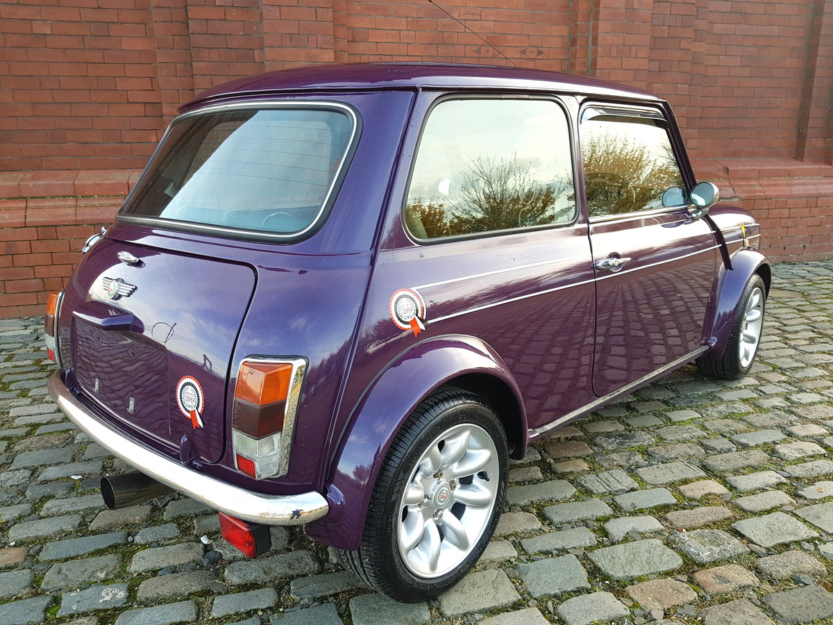 1998 ROVER MINI COOPER SPORTS PACK EDITION * RARE AMETHYST PURPLE SOLD (picture 2 of 6)