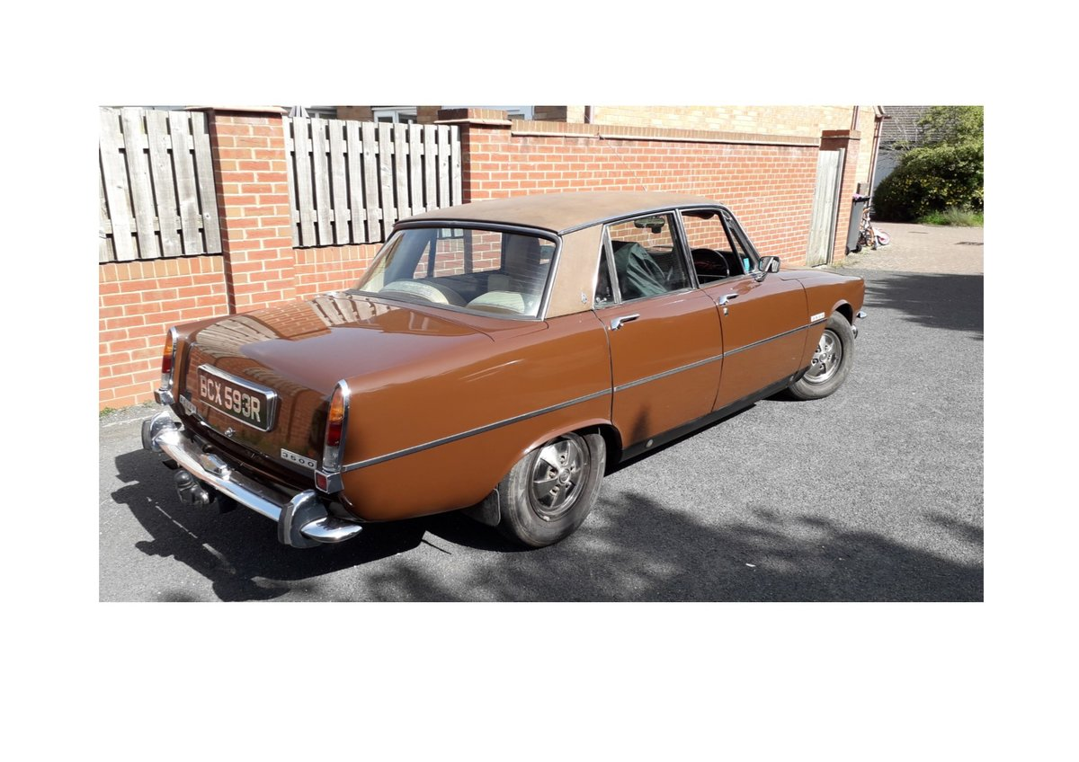 1976 Rover P6 3500 For Sale (picture 1 of 5)