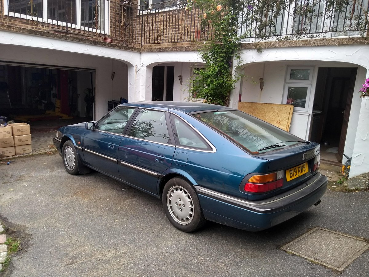 1996 Rover 827 Sterling, Automatic Blue  SOLD (picture 1 of 6)