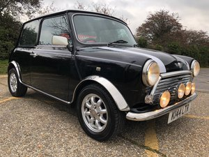 1992 1993 Rover Mini Cooper 1275cc. Stunning black. FSH.  For Sale