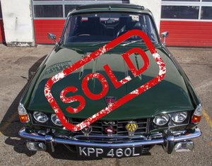 1972 SOLD Rover P6 3500S 3.5 RPi Overhauled V8 Manual For Sale