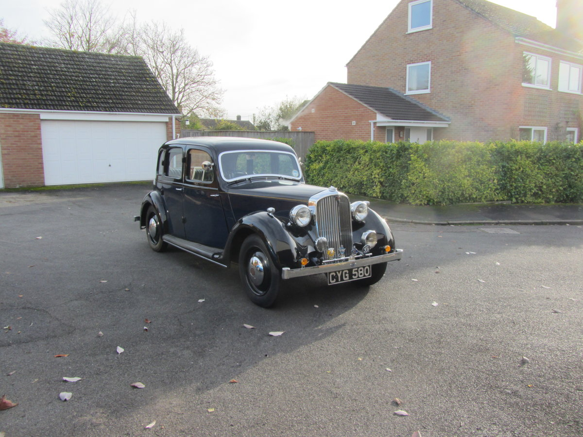 1937 Rover 12 For Sale (picture 1 of 6)