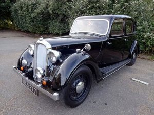 1937 Rover 12hp Saloon For Sale by Auction