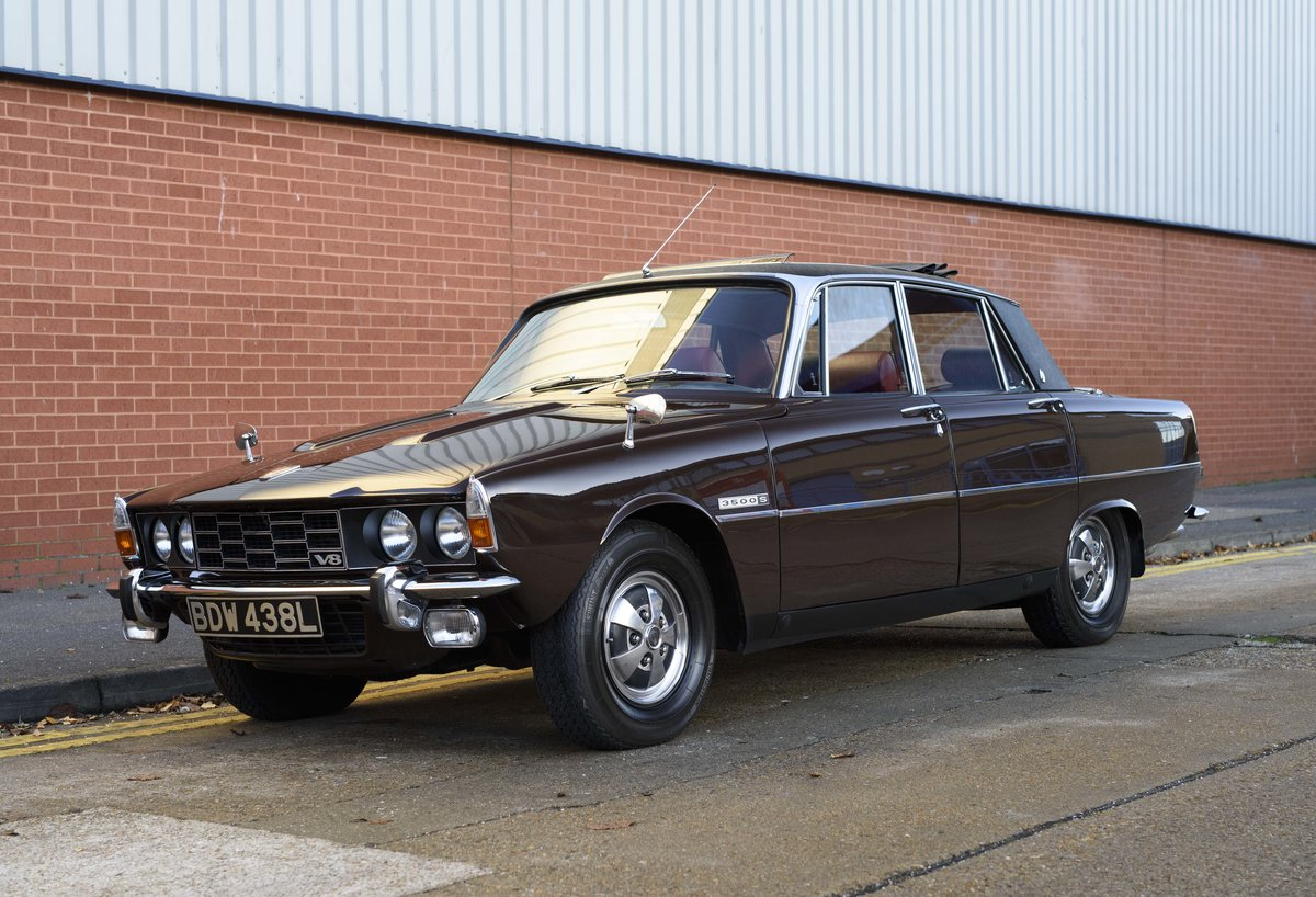 1972 Rover P6 3500 S Manual (RHD) For Sale (picture 1 of 23)