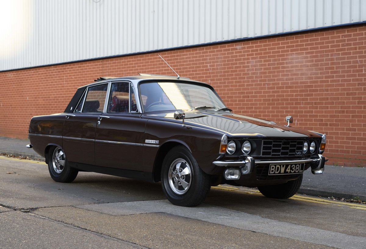 1972 Rover P6 3500 S Manual (RHD) For Sale (picture 2 of 23)