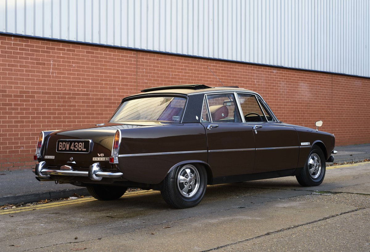 1972 Rover P6 3500 S Manual (RHD) For Sale (picture 3 of 23)