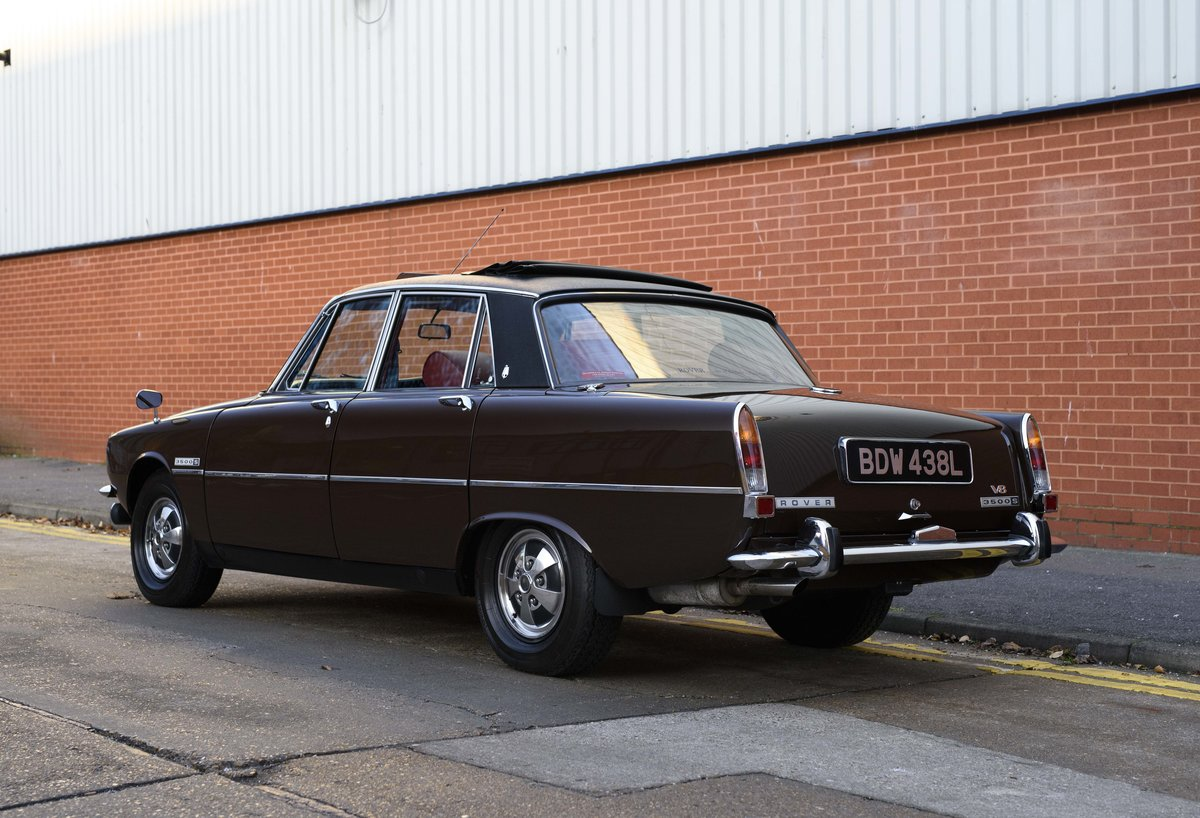 1972 Rover P6 3500 S Manual (RHD) For Sale (picture 4 of 23)