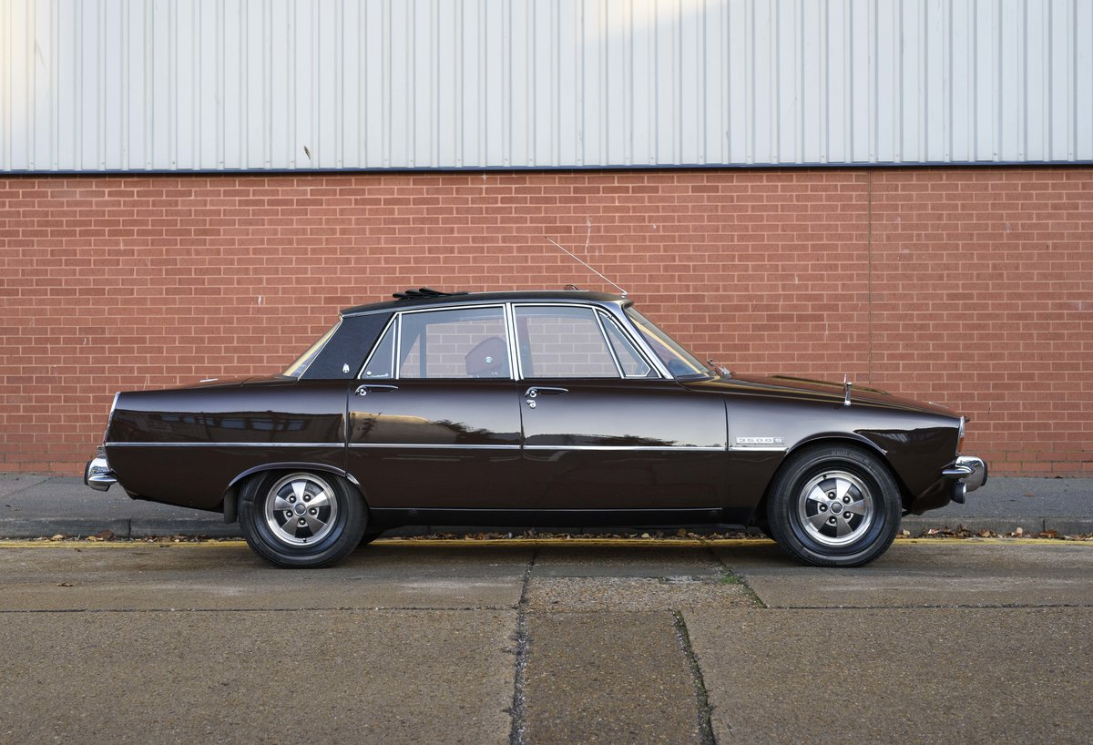1972 Rover P6 3500 S Manual (RHD) For Sale (picture 5 of 23)