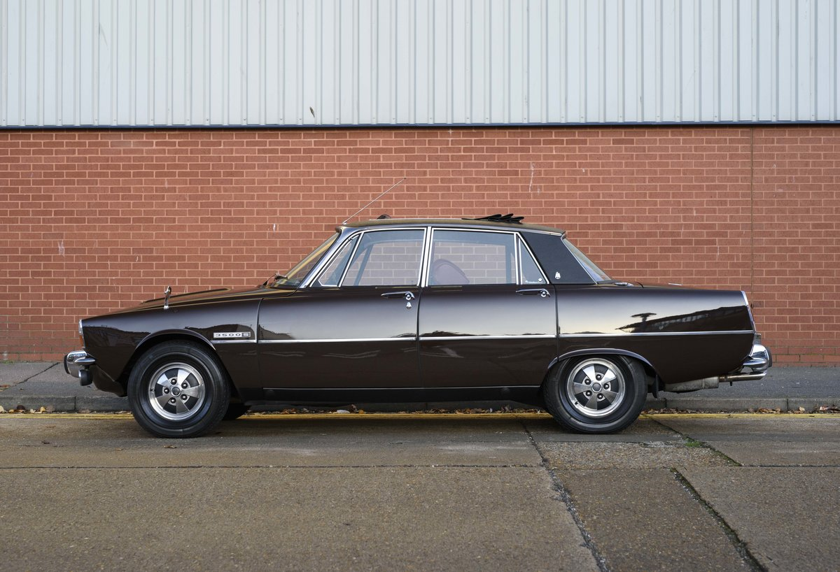 1972 Rover P6 3500 S Manual (RHD) For Sale (picture 6 of 23)