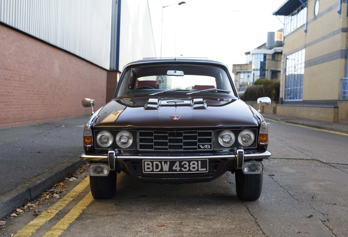 1972 Rover P6 3500 S Manual (RHD) For Sale (picture 7 of 23)