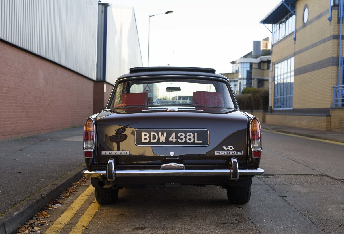 1972 Rover P6 3500 S Manual (RHD) For Sale (picture 8 of 23)