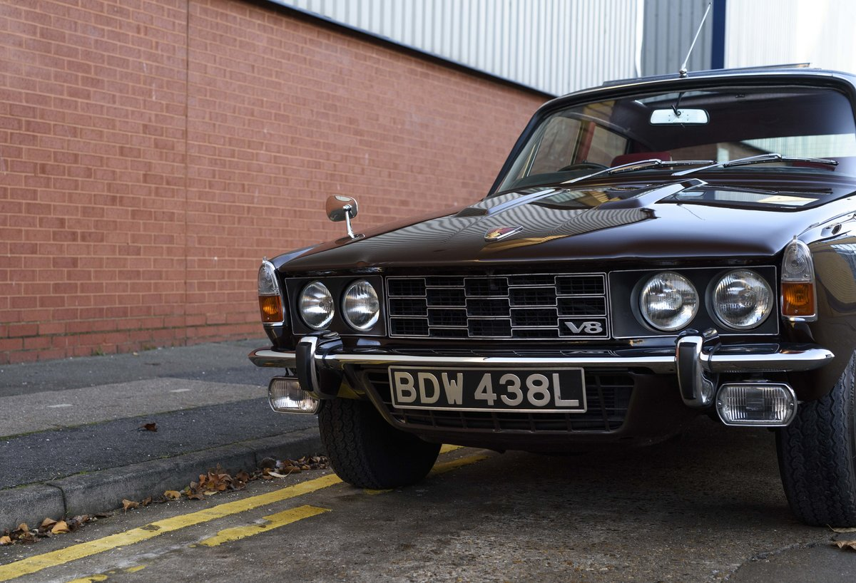 1972 Rover P6 3500 S Manual (RHD) For Sale (picture 9 of 23)