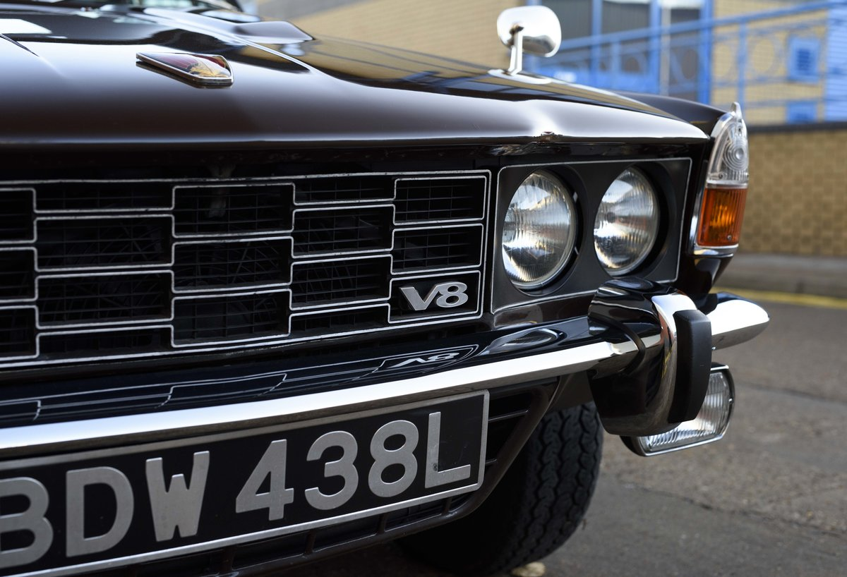 1972 Rover P6 3500 S Manual (RHD) For Sale (picture 11 of 23)