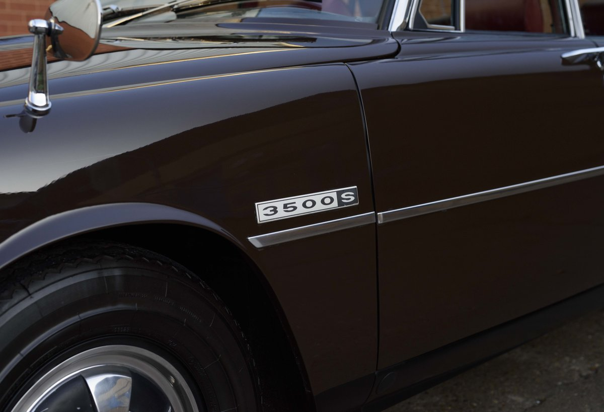 1972 Rover P6 3500 S Manual (RHD) For Sale (picture 12 of 23)