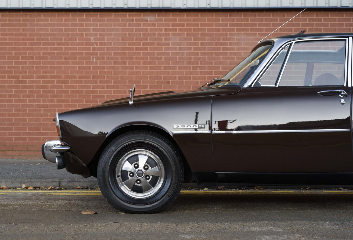 1972 Rover P6 3500 S Manual (RHD) For Sale (picture 13 of 23)