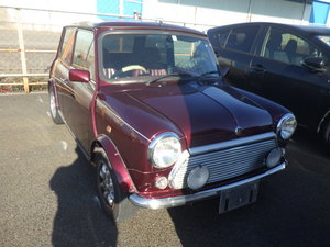 1999 ROVER MINI RARE AUTOMATIC 40TH ANNIVERSARY EDITION MULBERRY For Sale