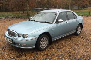 2001 Rover 75 2.0 V6 For Sale by Auction