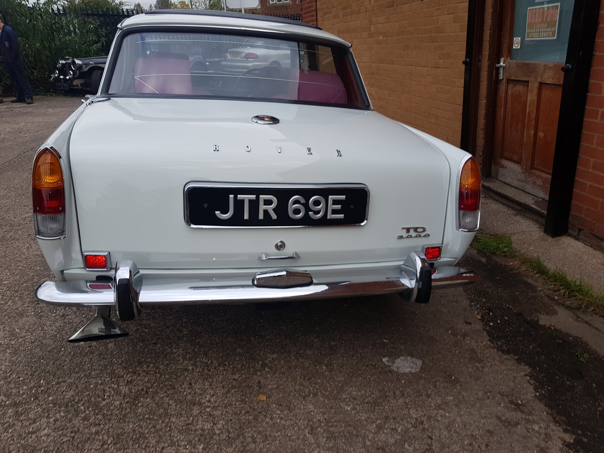 1967 Rover p6 2000tc  Award winning For Sale (picture 2 of 6)