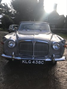 1965 Rover P5  3Litre mk 11 coupe. For Sale
