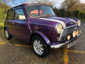 1998 Rover Mini Cooper 1275 MPi. Amaranth Purple.